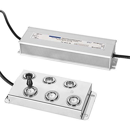 Mxmoonant Fabricante de Niebla de 6 Cabezales Nebulizador ultrasónico Humidificador de Niebla 4.2L/H 250W para la conservación de Alimentos de la atmósfera del Festival del Paisaje hidropónico