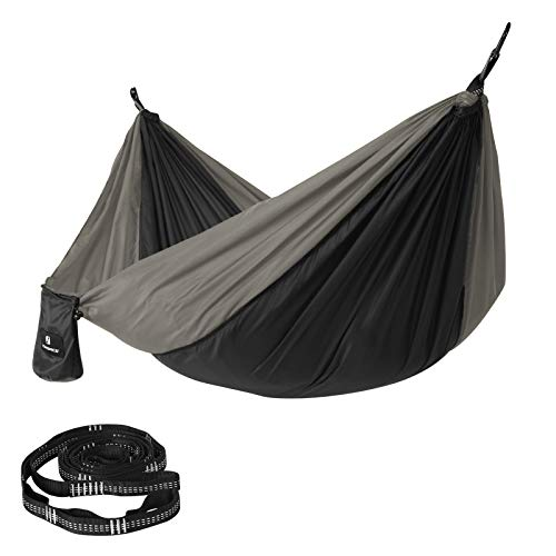 SONGMICS Hamac de Camping, 275 x 140 cm, Charge...