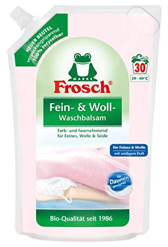 Frosch Fein- und Woll-Waschbalsam, 1,8 ltr. Waschmittel (bitter), 30 stück