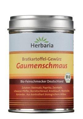 Herbaria Bio Bratkart.gewürz- Gaumenschmaus (4 x 100 gr)