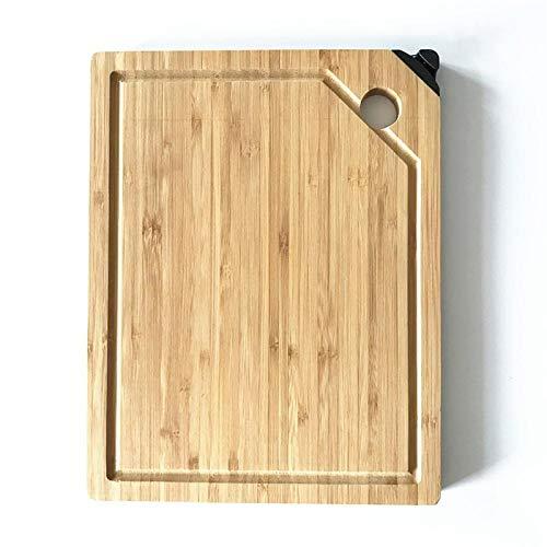 Qxinjinxab Alloy slipning bambu skärbräda är lämplig för kök matlagning och oförstörbar