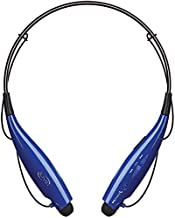 iLive Bluetooth Neckband Earbuds, Include 3 Sets of Ear Tips and Micro-USB to USB Cable, Blue (IAEB18BU)