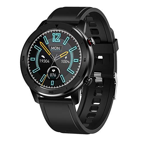 ZXCVBN [Nueva actualización 2021] Reloj Deportivo Inteligente, actualización Reloj Inteligente Frecuencia cardíaca Presión Arterial Reloj Inteligente Deportivo Multifuncional Impermeable
