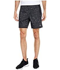 Performance short, power mesh side pockets Gusset, zippered back pocket Reflective RVCA and VA logos Outseam: 17in.