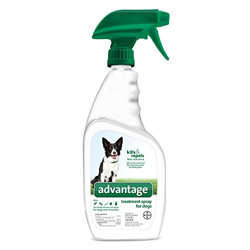 Advantage Flea and Tick Treatment Spray for Dogs, 24 oz