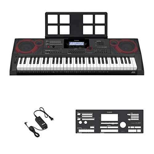 Casio ct-x5000 61 Keys USB Black, White Midi Keyboard – Midi Keyboards (61 Keys, USB, 948 mm, 384 mm, 116 mm, 7 kg)