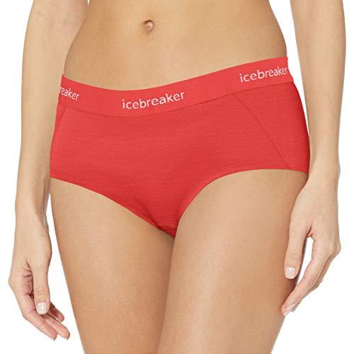 Icebreaker Damen Sprite Merinowolle Hot Pants, Damen, Sprite Hot Pant, fire, Large