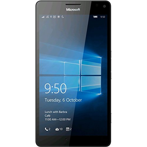 Microsoft Lumia 950 XL RM-1116 (Factory Unlocked) Dual SIM North American Version (Black)