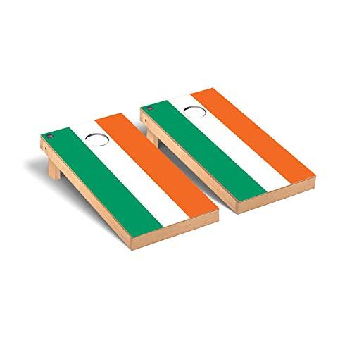 Victory Tailgate Ireland Irish Flag Regulation Cornhole Bean Bag Toss Game