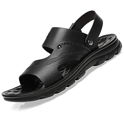 ReedG Sandalias Deportivas cómodas Deportes al Aire Libre Jardinería Ligero Cómodo Sandalias Ajustables Zapatos de Senderismo al Aire Libre (Color : Black, Size : 39)