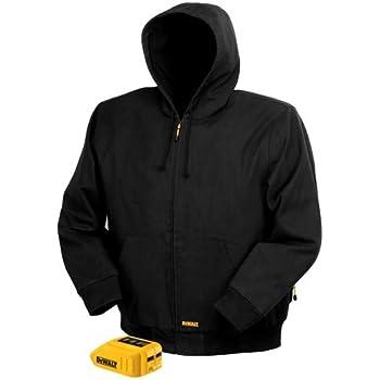 Jacket Only 3XL P-6 DeWalt DCHJ080B-3XL 20V Charcoal Gray Heated Hoodie