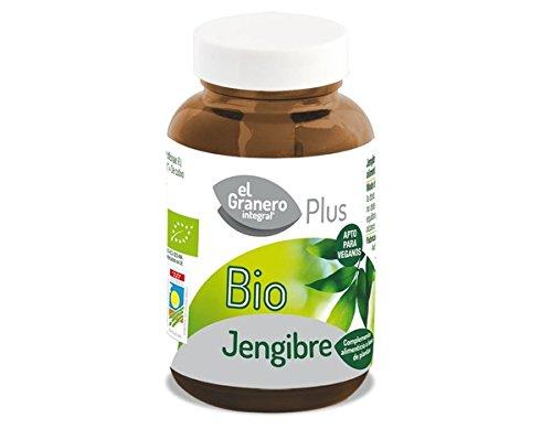 Jengibre Bio 500 Mg. 90 Cápsulas de El Granero Integral