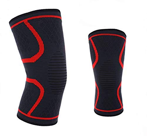 Knee Brace Sleeve with Best Patella Compression for Meniscus Tear & Arthritis – Ideal for Running, Sports and Daily Activities for Women, Men and Kids