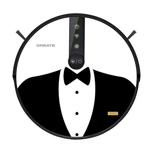 IKOHS Netbot S18 – Robot aspirapolvere 4 in 1, mappatura e app, 1800 Pa, navigazione intelligente, anti-collisione e anti-caduta, compatibile con Alexa, Google Home, WiFi (Alfred)