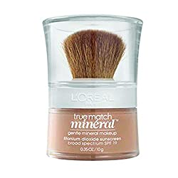 cheap L'Oreal Paris True Match Mineral Loose Powder Foundation, Beige, 035 oz