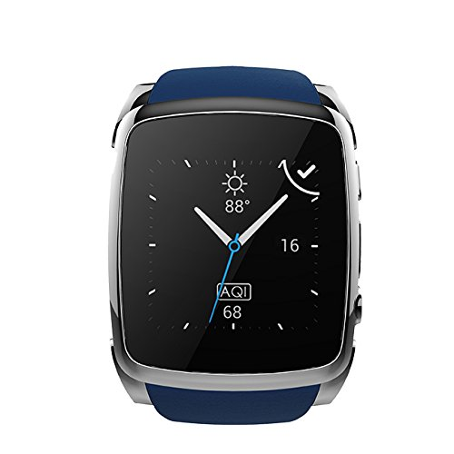 Prixton sw21 - Smartwatch de 1.54' (Bluetooth, iOS, Android) color azul