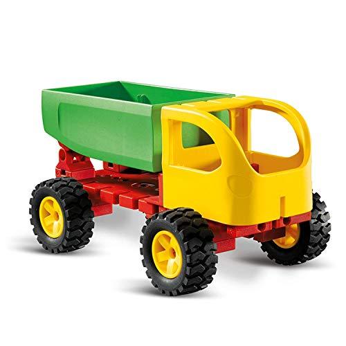 fischertechnik 511929 Little Starter-das Spielzeug für ab 5 Jahre-der Baukasten für Kinder enthält große und einfach zu greifende Bauteile-6 Modelle-Kipplaster, Hubschrauber, Bagger, UVM