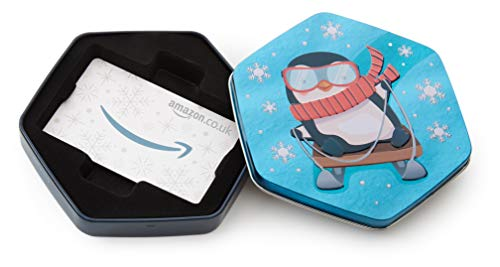 Amazon.co.uk Gift Card for Custom Amount in a Penguin Tin