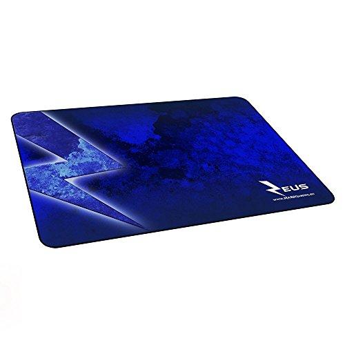 Mars Gaming MMPZE1 - Alfombrilla gaming para PC (base de caucho natural, superficie nanotextil, máxima comodidad y rendimiento), color azul