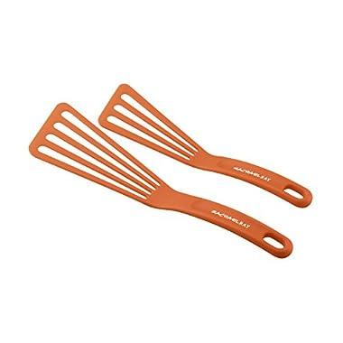 Rachael Ray Tools 2-Piece Nylon Turner Set, Orange