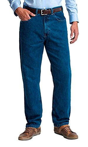 Kirkland Signature Mens Relaxed Comfort Fit Jeans, 32x34