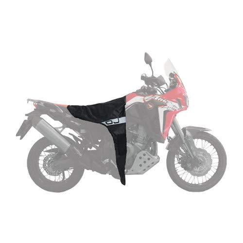Cubrepiernas cubrepiernas Pro Moto térmico C005 OJ Compatible con Kawasaki ER 6 F Impermeable Cortavientos de Montaje rápido