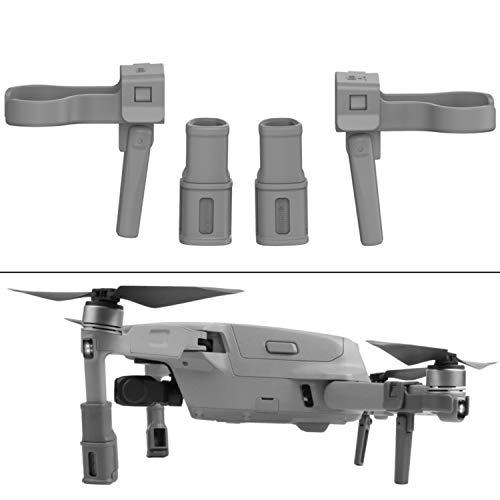 Leg Extenders per drone DJI MAVIC AIR 2 e AIR 2S accessori drone di protezione sottoscocca e stabilizzatore, piedini di atterraggio drone, prolunga carrello di atterraggio per DJI Mavic AIR 2 e AIR 2S