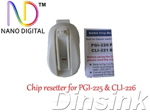 ND USB Chip Resetter for Canon PGI-225 CLI-226 PGI-220 CLI-221 PGI-5 CLI-8 (Three in one). Never Power Off.The Item Logo
