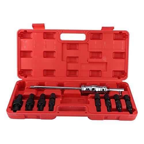 Blindloch-Pilotlager-Innen- / Extraktor-Abzieher, 9-teiliges Blindloch-Innenlager-Abzieher-Entferner-Set Gleithammer-Innenwerkzeug-Kit 8-32 Mm