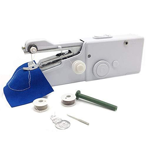 Handheld Naaimachine, Draagbare Mini Handheld Elektrische Naaimachine, Quick Handy Stitch Voor Fabric Kinder Doek Pet Kleding Voor Thuis En Onderweg Gebruik