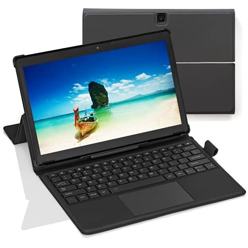 [3 Oggetti Bonus] Simbans TangoTab XL 11.6 Pollici Tablet e Tastiera, 2-in-1 Laptop, Android 10, 4 GB RAM, 64 GB, Mini-HDMI, 8 MP fotocamera, USB, GPS, WiFi, Bluetooth PC - TLXL