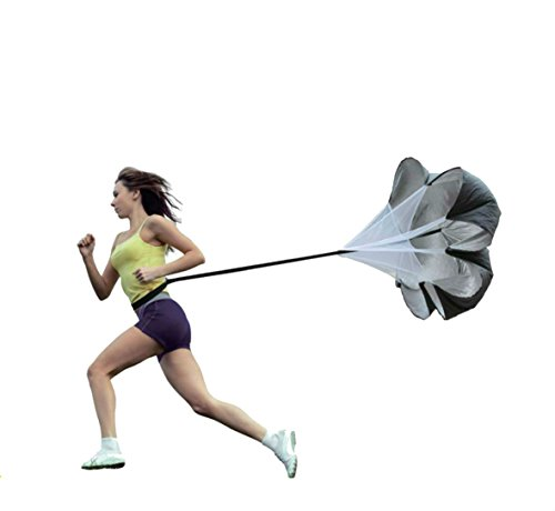 Physport Resistance Parachute 56 Inch Running Parachute for Power Speed