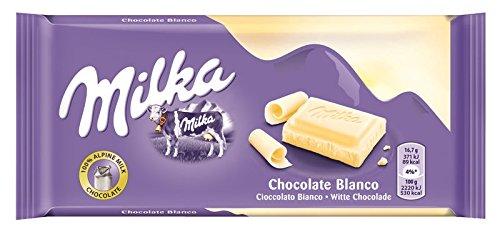 Milka Weisse Schokolade, 11er Pack (11 x 100 g)