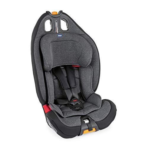 Chicco 07079583500000 - Chicco Gro-Up 123 - Silla de coche reclinable para bebés de 9-36 kg, grupo 1/2/3 para niños de 9 meses a 12 años, color gris (Ombra), unisex