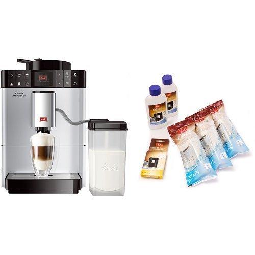 Melitta F57/0-101 silber Kaffeevollautomat Caffeo Varianza CSP + Melitta 6er Pflegeset