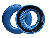 Lisening Almohadillas de repuesto para orejeras almohadillas para orejeras para Sony PS3 PS4 oro inalámbrico Playstation 3 Playstation 4 CECHYA-0083 estéreo 7.1 Virtual Surround auricular (azul)