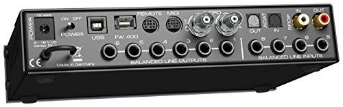RME FIREFACE UCX Alámbrico Negro, Azul - Amplificador de Audio (9-18, 12 W)