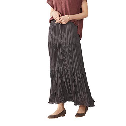 (コムサ イズム) COMME CA ISM 〈ウエストゴム〉ティアード スカート 12-50FT07-201 L ブラウン