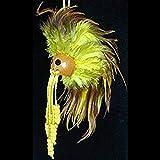 Hawaiian Yellow with Brown Ikaika Warrior Helmet