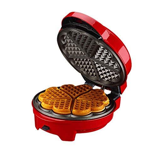 Waffeleisen mit abnehmbaren Tellern Morning Meal Station Grill oder Sandwich Maker Toaster mit Antihaftbeschichtung zum Frühstück, Mittagessen oder Snacks
