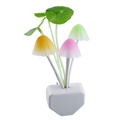 Preisvergleich Produktbild homiki Pilze Licht Nacht-,  schöne Dekoration Licht Nacht Lampe für Kinder,  doppelte Lampe,  Wohnzimmer Schlafzimmer Beleuchtung Nachttischlampe