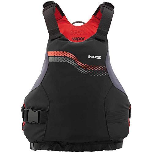 NRS Vapor Kayak Lifejacket (PFD)-Black-XL/XXL