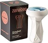 Zanabaq EDGE   Cazoleta Cachimba Piedra   Cabeza Shisha   Tecnología Vortex   Hecho a mano en Alemania   Midnight Colourway