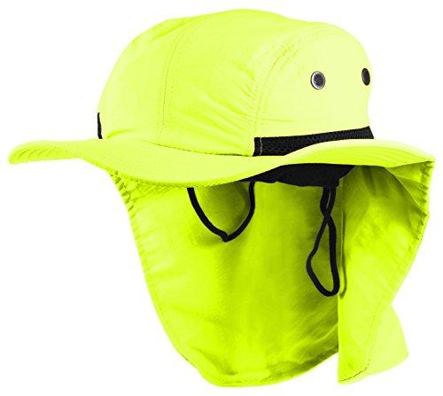 Enimay Headware Extreme Outdoor Zustand Ohr Hals Flap Schutz Sonnenhut - Grün - Einheitsgröße