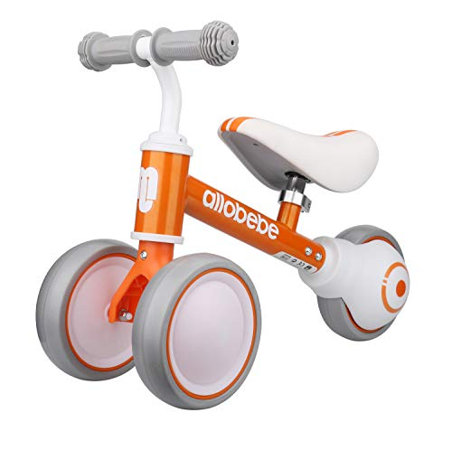 allobebe Baby Balance Bike-Cute Toddler Bikes 12-36 Months Toys for 1 Year...