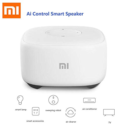 Xiaomi Mi Ai Altavoz Artificial Inteligente Mini Altavoz Inteligente Control de Voz Smart Radio Player WiFi Historia Teller para Kid Regalo (Xiaomi Mi Ai Altavoz Artificial Inteligente Mini Altavoz