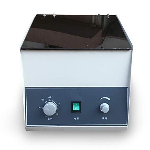 Kleine Elektrische Centrifuge 6000 RPM, Lage Noise Timing Control Desktop Hoge Capaciteit Centrifuge Laboratorium Hoekige Rotor 50ML*8 voor Plasma, Serum, Urea 50ML*8