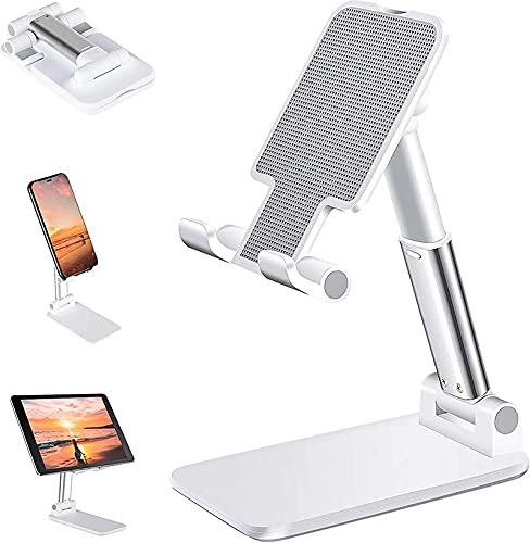 PPuujia Universal Desktop Tablet Holder Mesa Celda Plegable Extend Soporte Soporte Titular de Teléfono Móvil Soporte para iPhone iPad Xiaomi (Color : Pink)