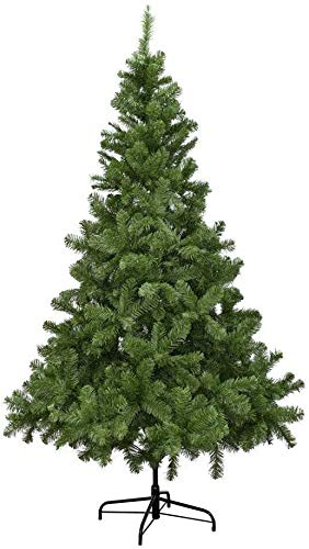 XmasExp 5 FT Artificial Christmas Pine Tree Easy Assembly with Foldable Solid Metal Stand, Perfect for Indoor and Outdoor Holiday Decoration