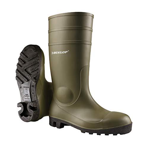 Dunlop Protective Footwear Acifort Heavy Duty full safety Unisex-Erwachsene Gummistiefel, Grün 43 EU